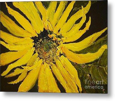 Linda's Arizona Sunflower 2 Metal Print by Sherry Harradence