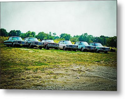 Line Up Metal Print by Off The Beaten Path Photography - Andrew Alexander