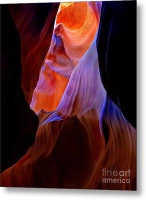 Liquid Light Metal Print by Mike  Dawson