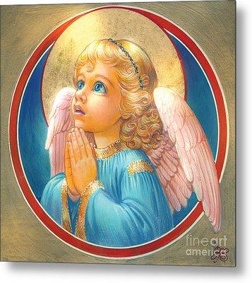 Little Angel Metal Print by Zorina Baldescu