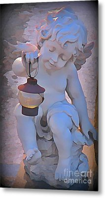 Little Angels Light The Way Metal Print by John Malone
