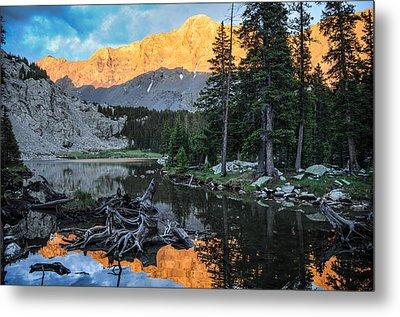 Little Bear Peak And Lake Como Metal Print by Aaron Spong