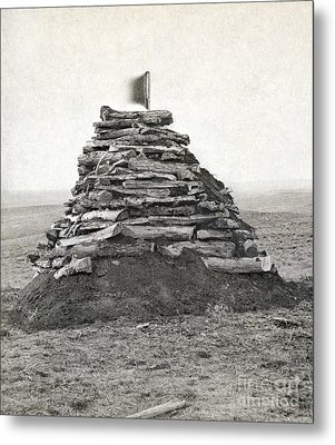 Little Bighorn Monument Metal Print by Granger
