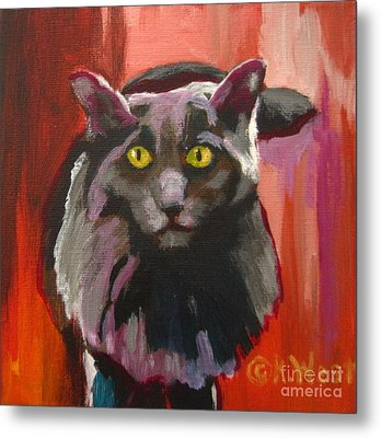 Little Darling Knows Metal Print by Katrina West