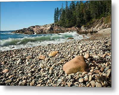 Little Hunter's Beach  0009 Metal Print by Brent L Ander