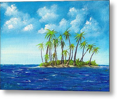 Little Island Metal Print by Anastasiya Malakhova