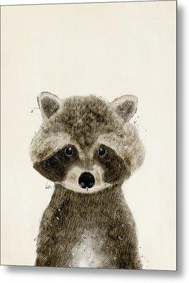 Little Raccoon Metal Print by Bri B