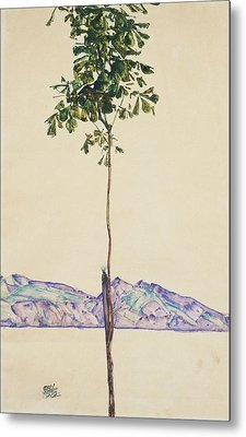 Little Tree Metal Print by Egon Schiele