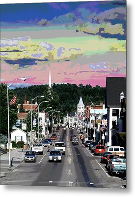 Littleton New Hampshire Metal Print by Charles Shoup
