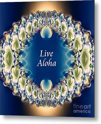 Live Aloha Metal Print by Renee Trenholm