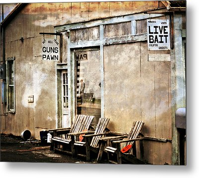 Live Bait Metal Print by Marty Koch