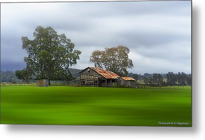 Living On The Land 0002 Metal Print by Kevin Chippindall