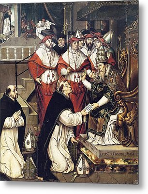 Llorens, Crist�bal Ca. 1550-ca. 1616 Metal Print by Everett