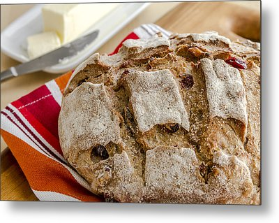 Loaf Love Metal Print by Teri Virbickis
