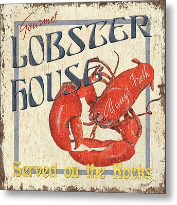 Lobster House Metal Print by Debbie DeWitt