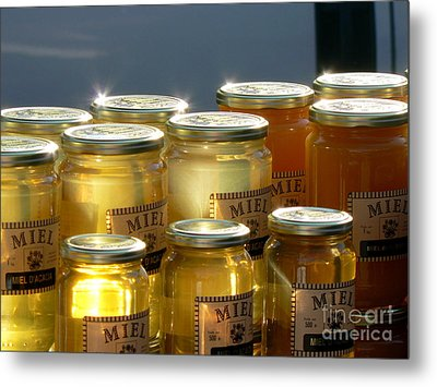 French Honey  Metal Print by France  Art