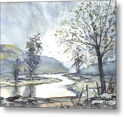 Loch Goil Scotland Metal Print by Carol Wisniewski