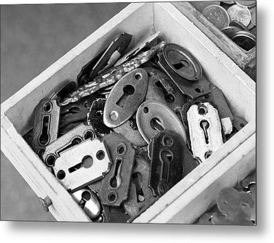 Lock Out Metal Print by Atchayot Rattanawan