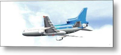 Lockheed L-1011 Tristar Metal Print by Marcello Cicchini