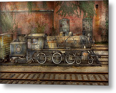 Locomotive - Our Old Family Business Metal Print by Mike Savad
