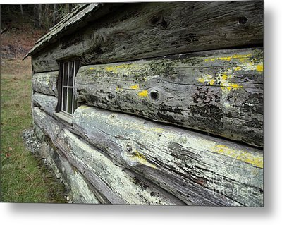 Log Cabin Side Metal Print by Graham Foulkes