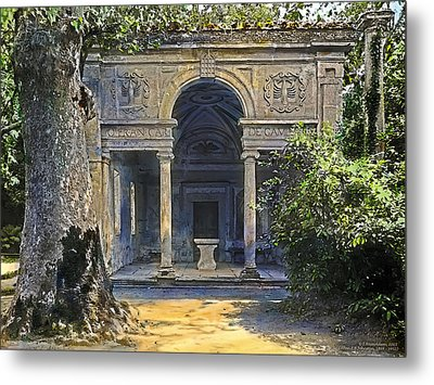 Loggia Of The Muses Metal Print by Terry Reynoldson