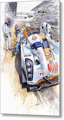 Lola Aston Martin Lmp1 Gulf Team 2009 Metal Print by Yuriy  Shevchuk