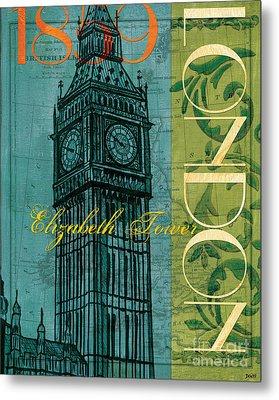 London 1859 Metal Print by Debbie DeWitt