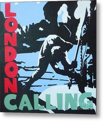 London Calling Metal Print by ID Goodall