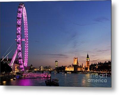 London Eye Metal Print by Rod McLean