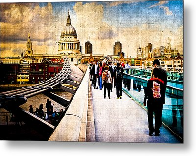 London Of My Dreams - St Paul's Metal Print by Mark E Tisdale
