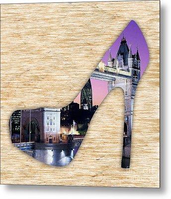London Tower Bridge Metal Print by Marvin Blaine