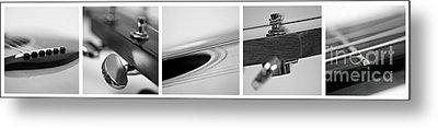 Long As The Guitar Metal Print by Priska Wettstein