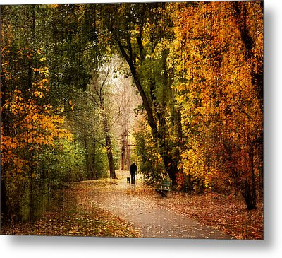 Long Walk Home Metal Print by Jessica Jenney