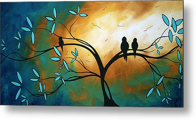 Longing By Madart Metal Print by Megan Duncanson