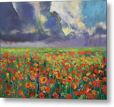 Longing Metal Print by Michael Creese