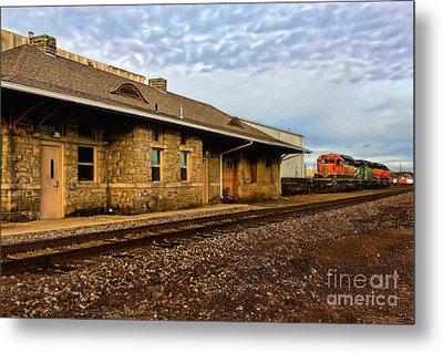 Longmont Depot Metal Print by Jon Burch Photography