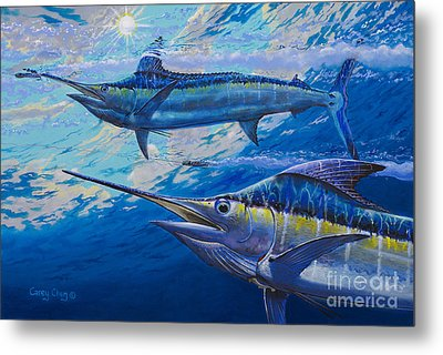 Lookers Off0019 Metal Print by Carey Chen