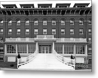 Loras College Keane Hall Metal Print by University Icons