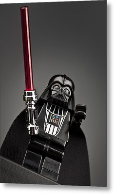 Lord Vader Metal Print by Samuel Whitton