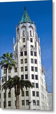 Los Angeles - Hollywood And Highland Metal Print by Gregory Dyer