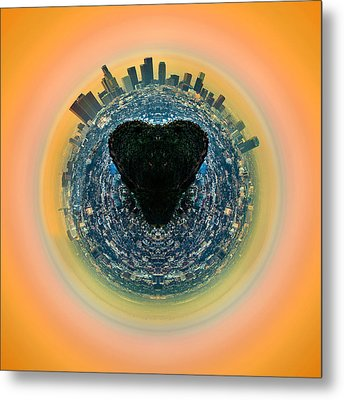 Love La Metal Print by Az Jackson