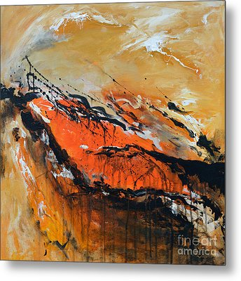 Lost Hope - Abstract Metal Print by Ismeta Gruenwald
