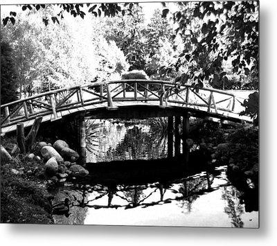 Lost Lagoon Bridge  Metal Print by Will Borden