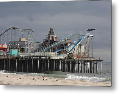 Lost To Sandy Metal Print by Laura Wroblewski