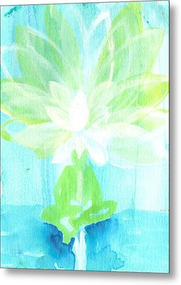Lotus Petals Awakening Spirit Metal Print by Ashleigh Dyan Bayer