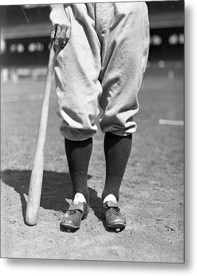 Lou Gehrig Of The New York Yankees Metal Print by Retro Images Archive