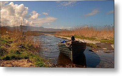 Lough Gill In Co.kerry Metal Print by Barbara Walsh