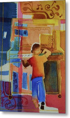 Love A Piano 1 Metal Print by Marilyn Jacobson