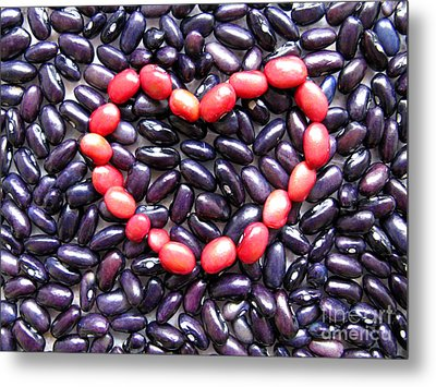 Love Beans #01 Metal Print by Ausra Huntington nee Paulauskaite